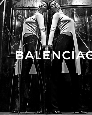 Balenciaga F W 2014 ph. by Steven Klein