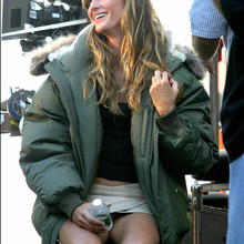 © Sara Jaye/ABACA. 50078-2. New York City-NY-USA, 21/09/2003.  Gisele Bundchen makes her acting debut in a remake of the French film 'Taxi'.
