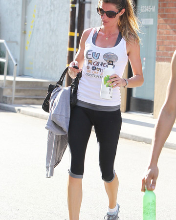 07-08 Leaves local gym after working out Los Angeles