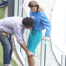 *EXCLUSIVE* Is Gisele BŸndchen pregnant? **WEB MUST CALL FOR PRICING**