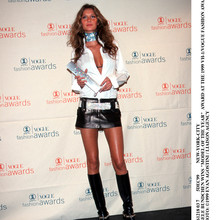 Gisele Bundchen Wins Model Of The Year Award At The 1999 Vh 1/Vo