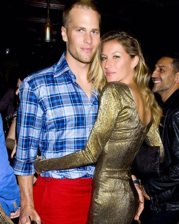 Gisele and Tom at Harry Josh's second annual HarrysParty at The Jane Hotel in the West V