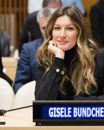 03-03 Goodwill Ambassador Gisele Bundchen at the WorldWildlifeDay event at the UN March 3 2016