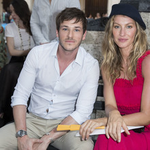 Celebrities pose at the party during the Chanel Cruise in La Havana, Cuba.
