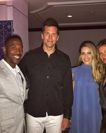 01-30 Gisele and Tom Brady attending the NFL100 in Miami Florida January 30 2020